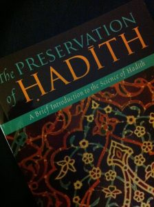 Cover - Hadith